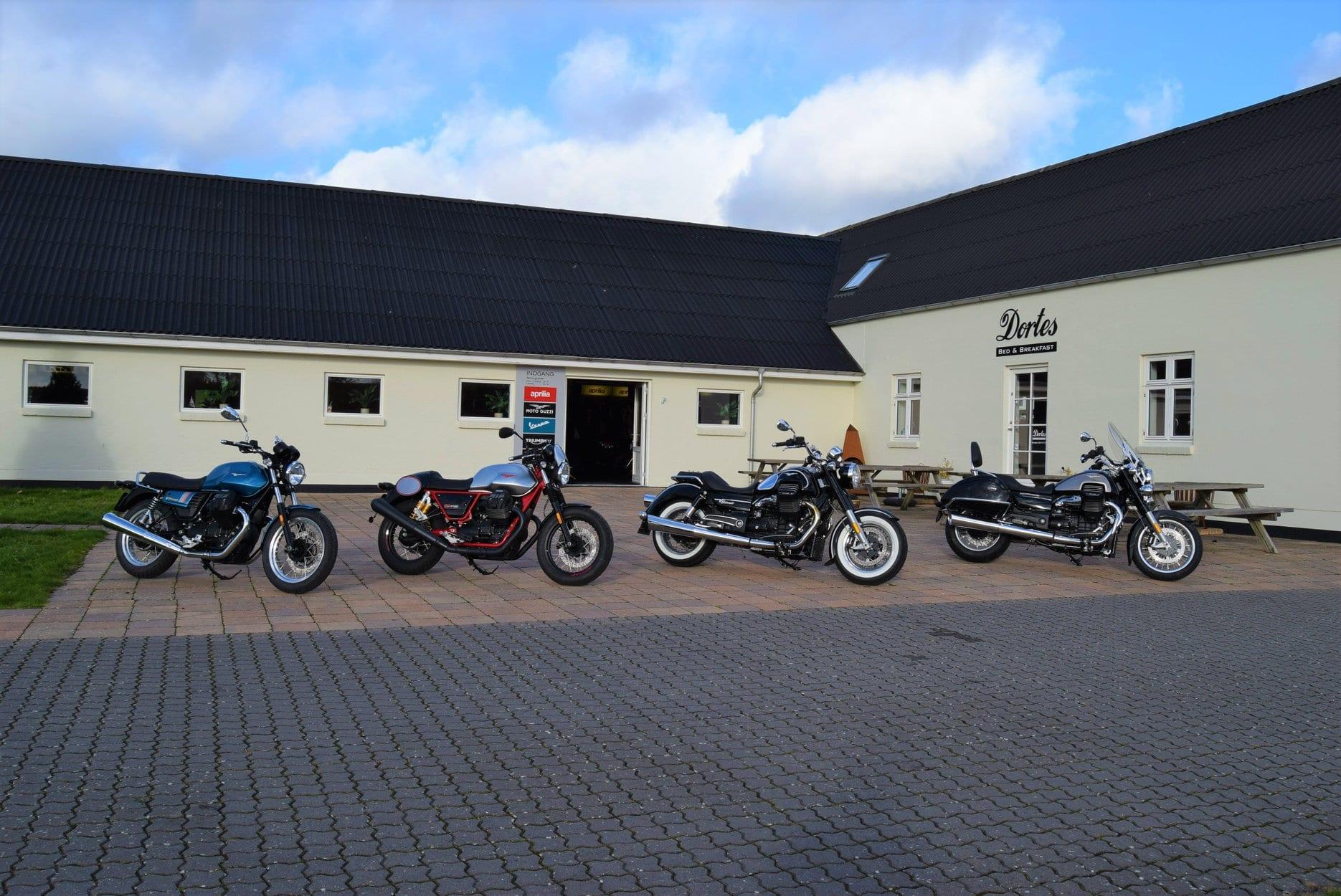 Motorcykler på række 4