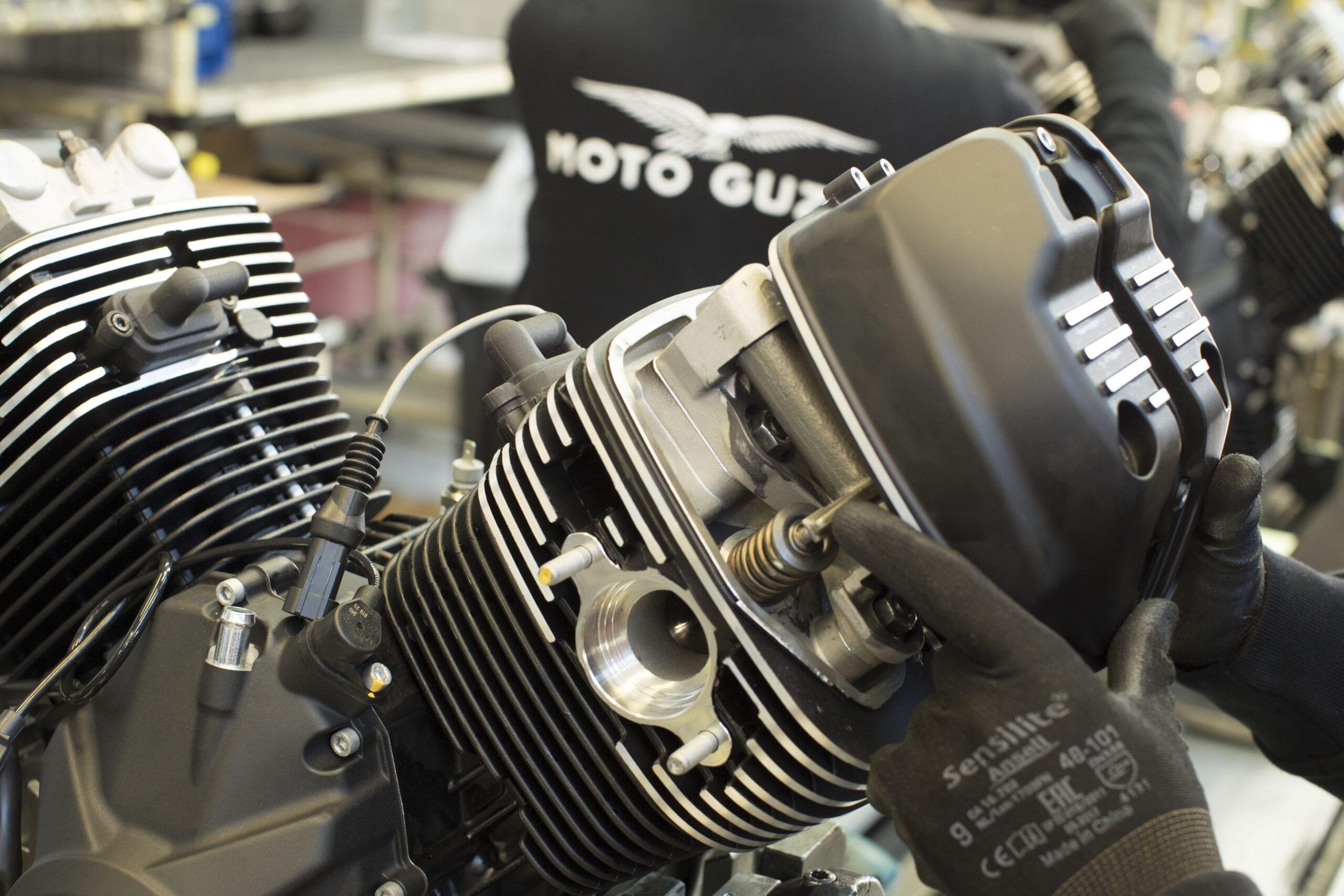 motoguzzi motor